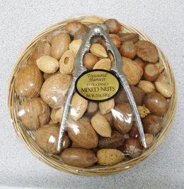 Nut Basket with Nutcracker