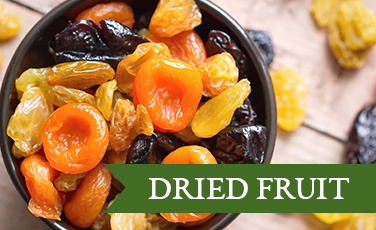 dried fruit