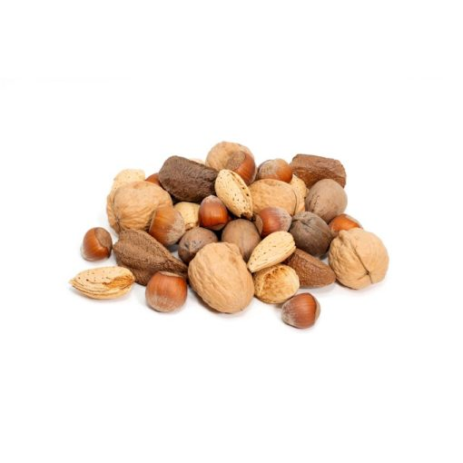 Almonds, Brazils, Hazelnuts, Pecans, Walnuts